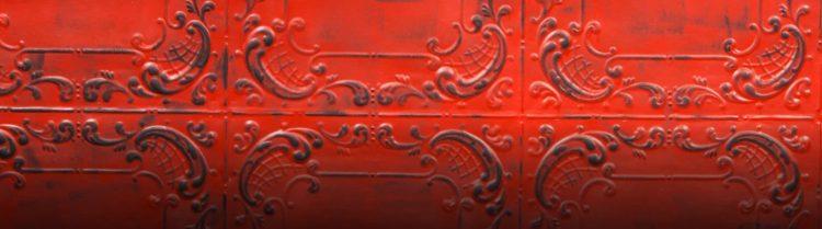 Black Carmine Viola Duvar Paneli