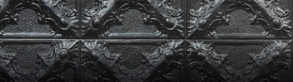 Siyah Karo Duvar Panelleri