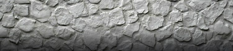 Chic Gray Baroque Taş Duvar Paneli