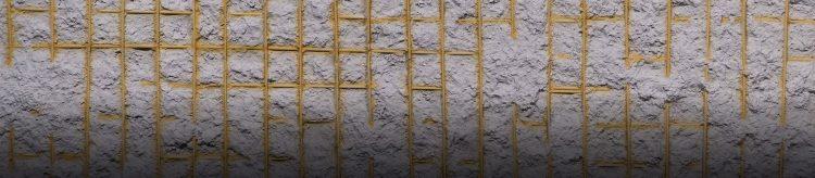 Dark Gray Ferroconcrete Duvar Paneli