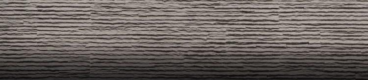 Dark Gray Serrate Taş Duvar Paneli