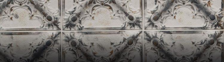 Gray Offwhite Magnolia Duvar Paneli