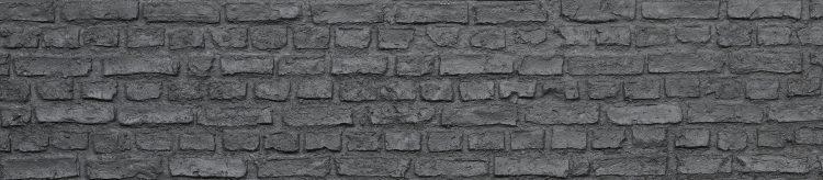 Jet Black Loft Brick Duvar Paneli