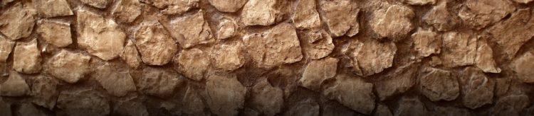 Marron Baroque Taş Duvar Paneli