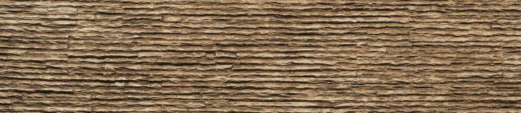 Marron Serrate Taş Duvar Paneli