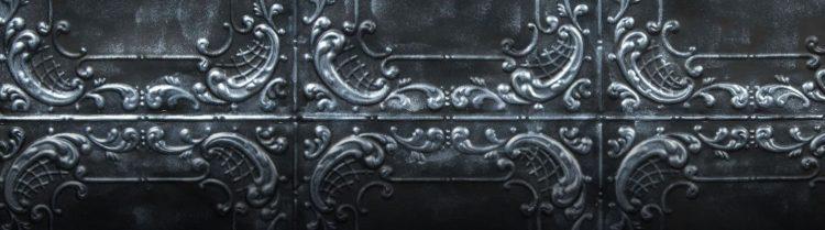 Silver Black Viola Duvar Paneli