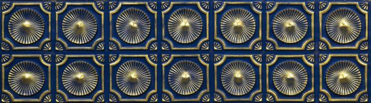 Gold İndigoblue Vermont Duvar Paneli