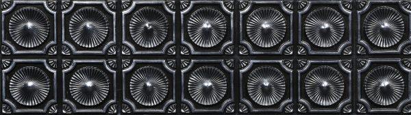 Silver Black karo duvar panelleri