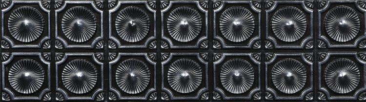 Silver Black Vermont Duvar Paneli