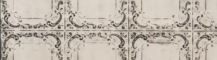 Gray Offwhite Viola Duvar Paneli